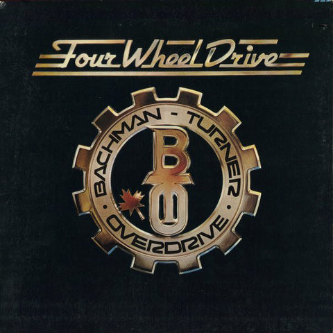 Bachman-Turner Overdrive ‎– Four Wheel Drive (1975) Cheap Vinyl Record