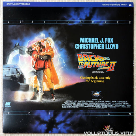 Back To The Future Part II - LaserDisc - Front Cover