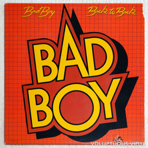 Bad Boy Back To Back Vinyl Record Front Cover