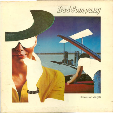 Bad Company ‎– Desolation Angels (1979) Cheap Vinyl Record