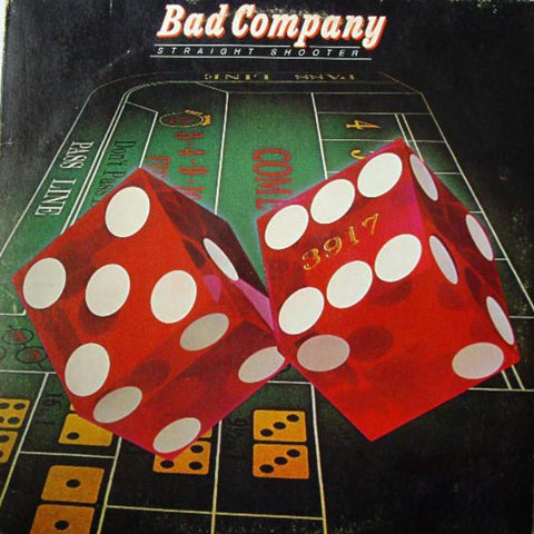 Bad Company ‎– Straight Shooter - Vinyl Record