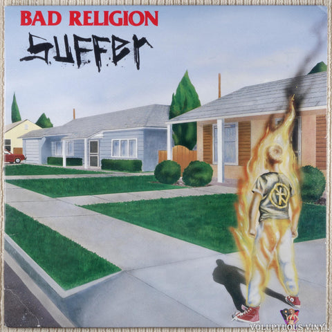 Bad Religion ‎– Suffer vinyl record front cover