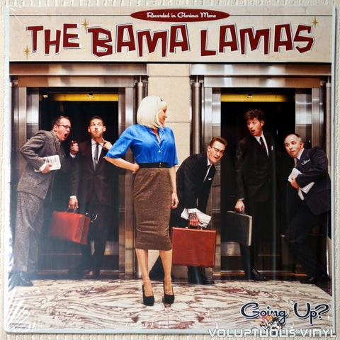 The Bama Lamas ‎– Going Up? - Vinyl Record - Front Cover
