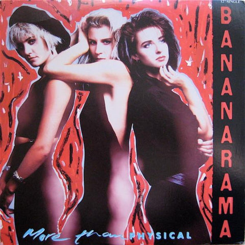 "Bananarama ‎– More Than Physical (1986) 12"" Single"