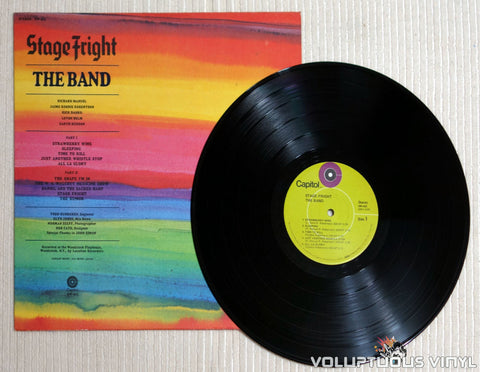 The Band ‎– Stage Fright - Vinyl Record