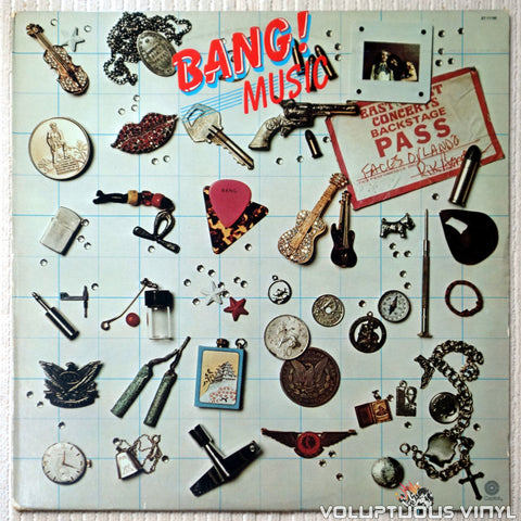 Bang ‎– Music - Vinyl Record - Front Cover