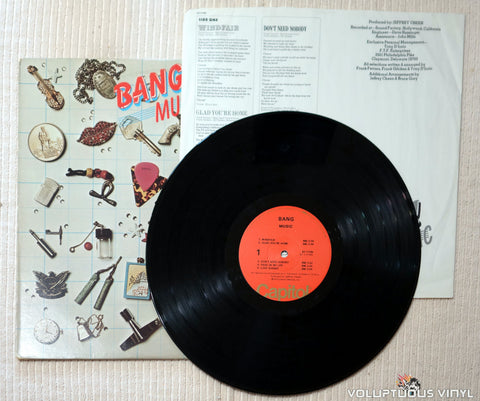 Bang ‎– Music - Vinyl Record