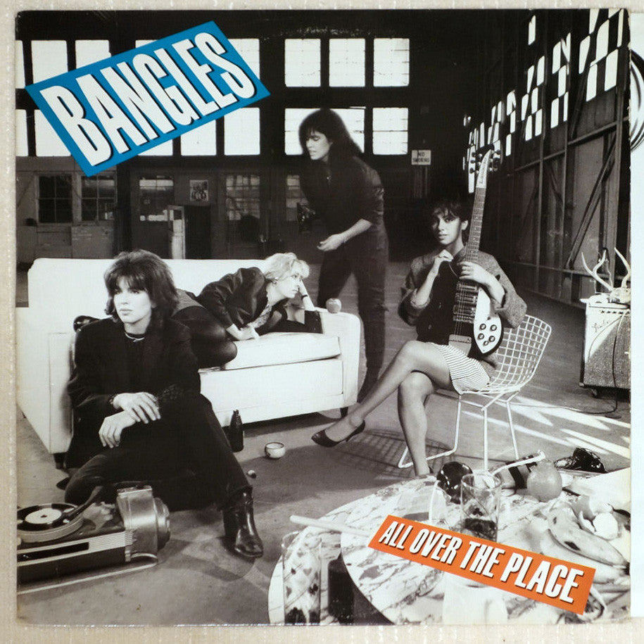 Bangles ‎– All Over The Place - Vinyl Record