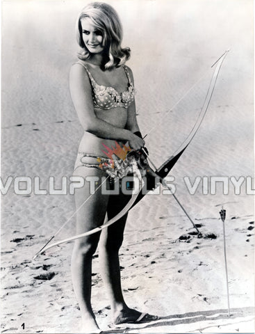Barbara Bouchet - Agent For H.A.R.M. Bikini Archer - Photograph