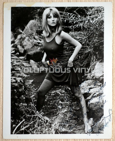 Barbara Bouchet Sexy Barefoot Hard Nipples Autographed Photo