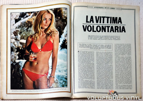 L'Europeo - September 11, 1969 - Barbara Bouchet Bikini