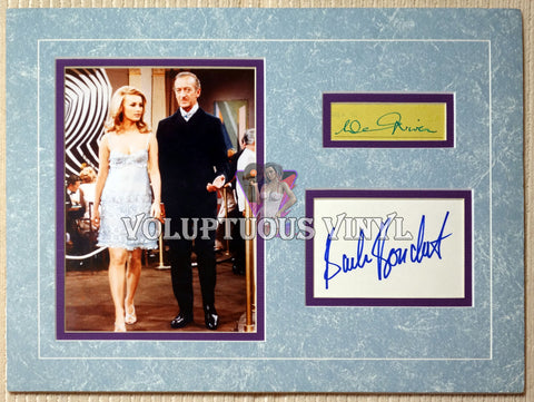 Barbara Bouchet & David Niven - Casino Royale - Matted Photo With Autographs