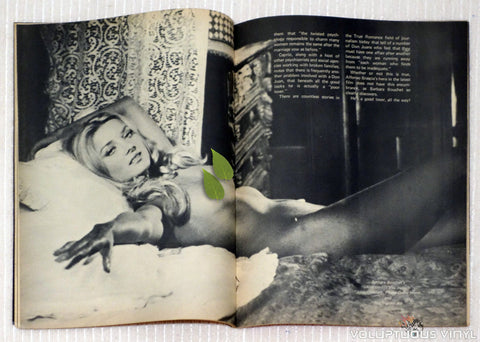 Barbara Bouchet Nude in bed in Rascal Magazine Nights and Loves of Don Juan