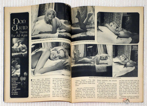 Barbara Bouchet Nude in Rascal Magazine Nights and Loves of Don Juan