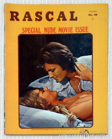 Rascal Magazine - Special Nude Movie Issue - Vol. 8 Issue 6 - January 1971 - Featuring Barbara Bouchet