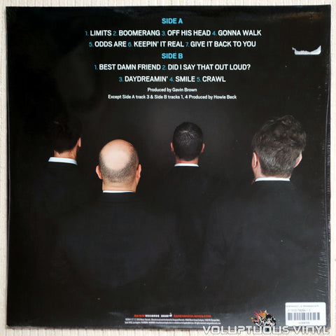 Barenaked Ladies ‎– Grinning Streak - Vinyl Record - Back Cover