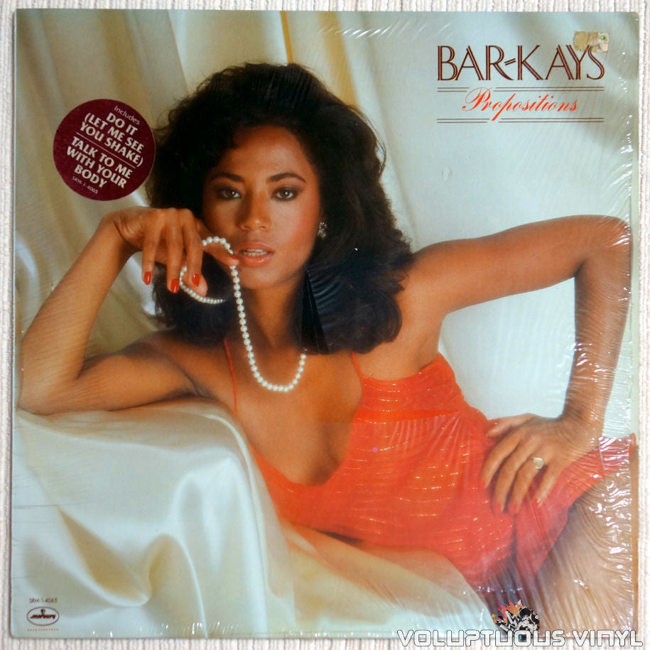 Bar-Kays ‎– Propositions - Vinyl Record - Front Cover