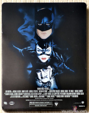 Batman Returns Blu-ray Steelbook back cover