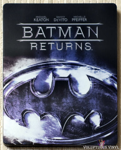 Batman Returns Blu-ray Steelbook front cover