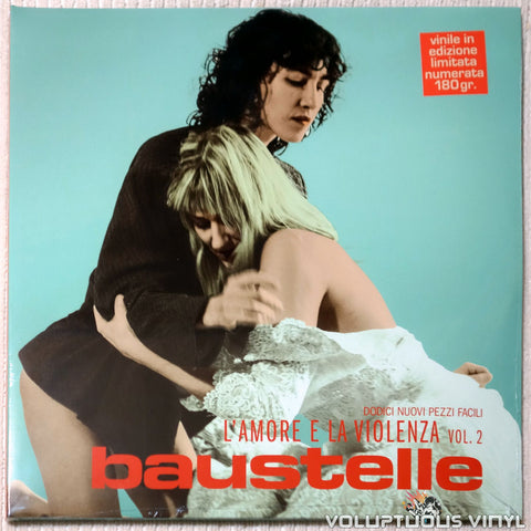 Baustelle ‎– L'Amore E La Violenza Vol. 2 (2018) 2xLP, Limited Edition, Italian Press SEALED
