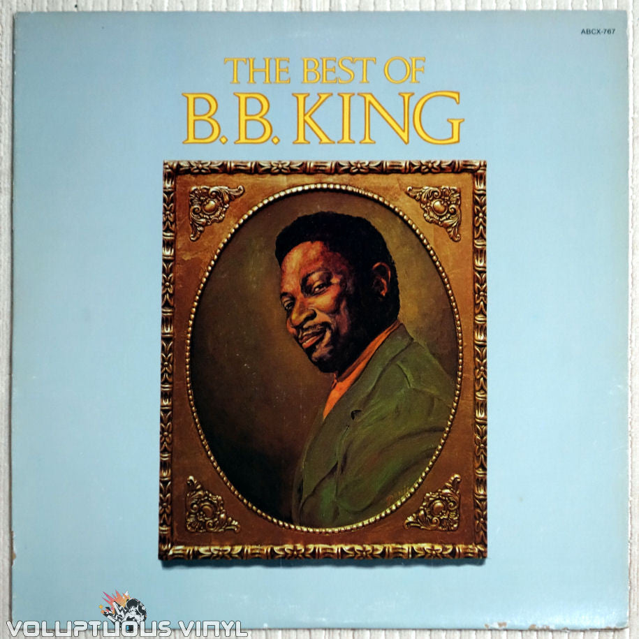 B.B. King ‎– The Best Of B.B. King - Vinyl Record - Front Cover