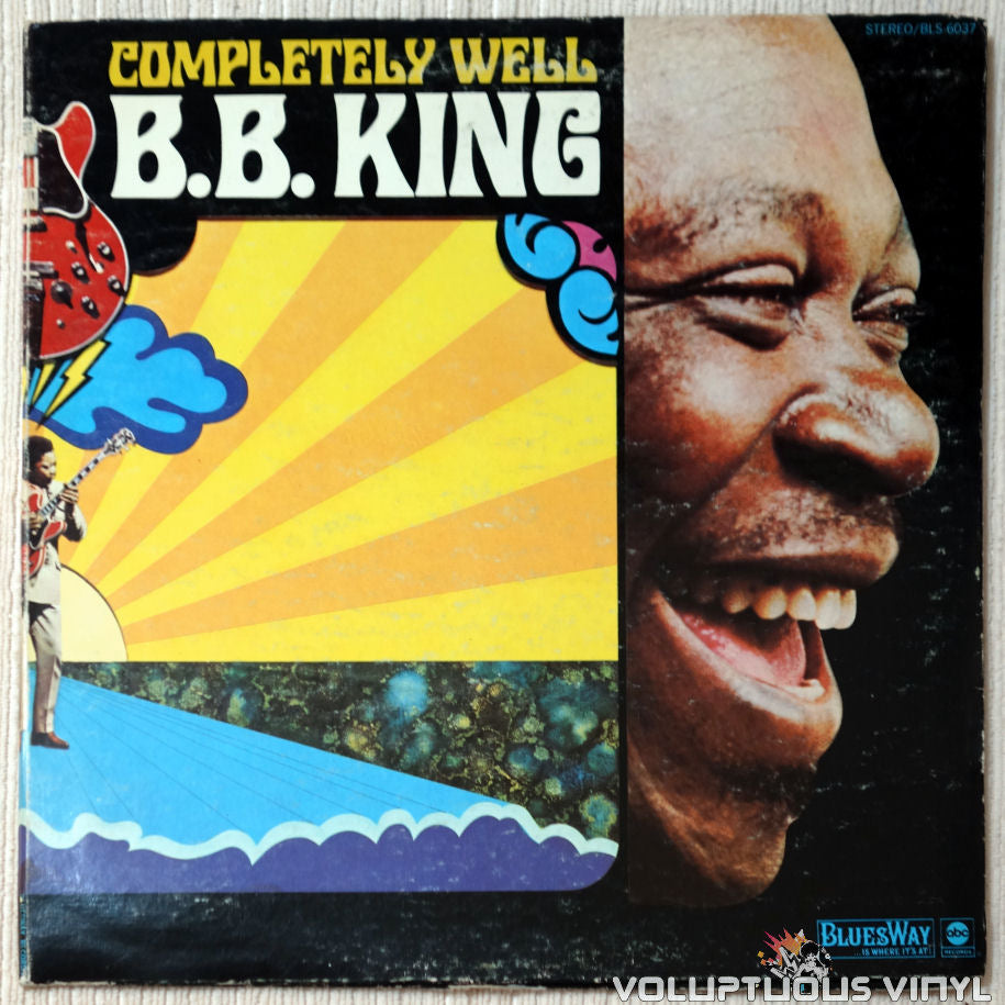 B.B. King ‎– Completely Well vinyl record front cover