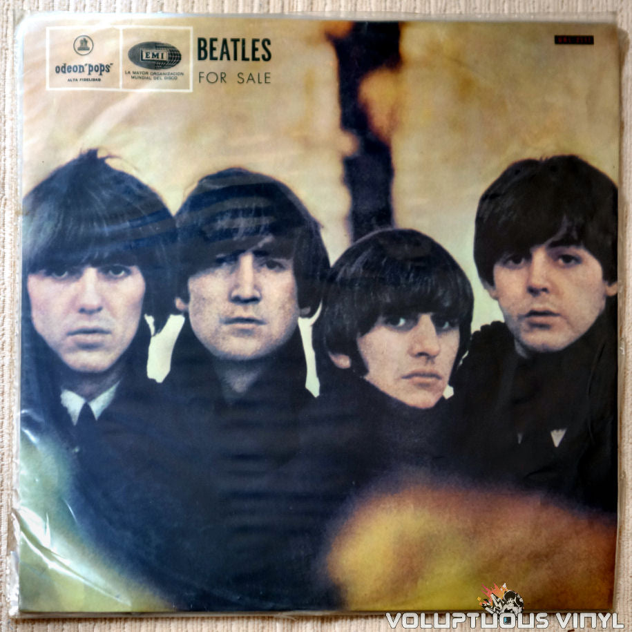 The Beatles ‎– Beatles For Sale - Vinyl Record - Front Cover