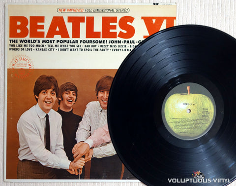 The Beatles ‎– Beatles VI - Vinyl Record