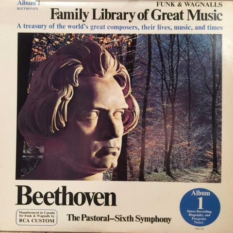 Beethoven ‎– The Pastoral - Sixth Symphony (1975) SEALED