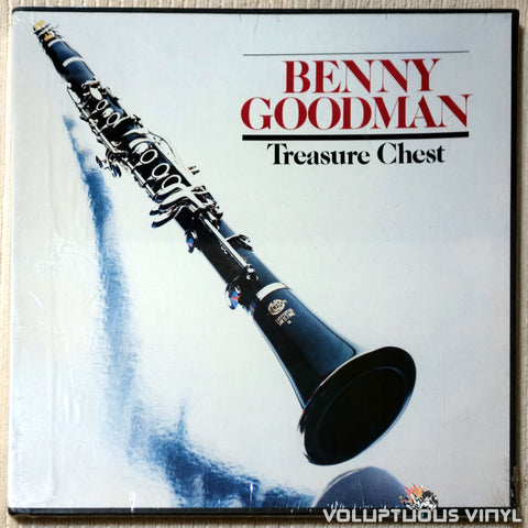 Benny Goodman ‎– The Benny Goodman Treasure Chest - Vinyl Record - Front Cover