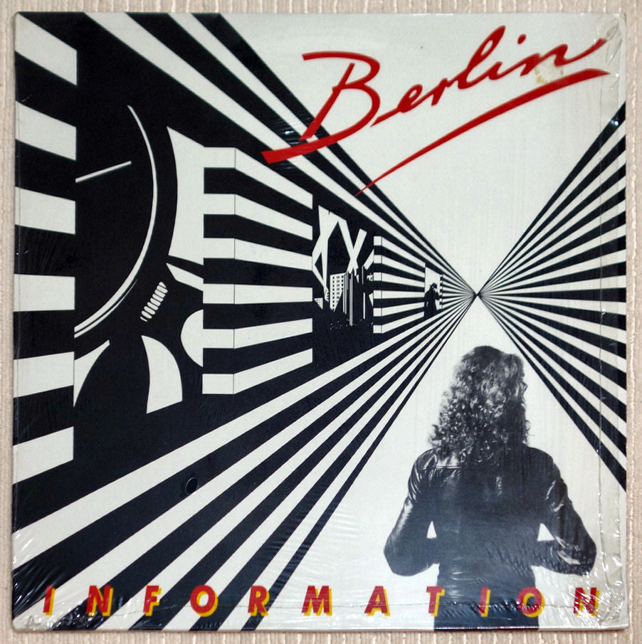 Berlin Information Rare German Pressing Vinyl Record Front Cover