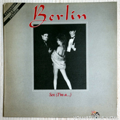 Berlin ‎– Sex (I'm A...) - Vinyl Record - Front Cover