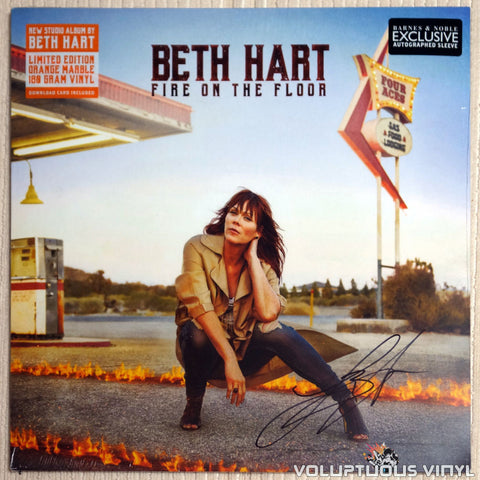 Beth Hart ‎– Fire On The Floor - Vinyl Record - Front Cover