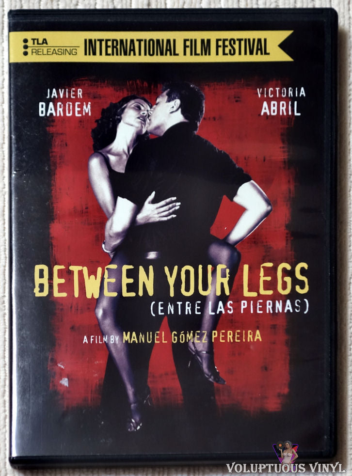 Between Your Legs DVD front cover