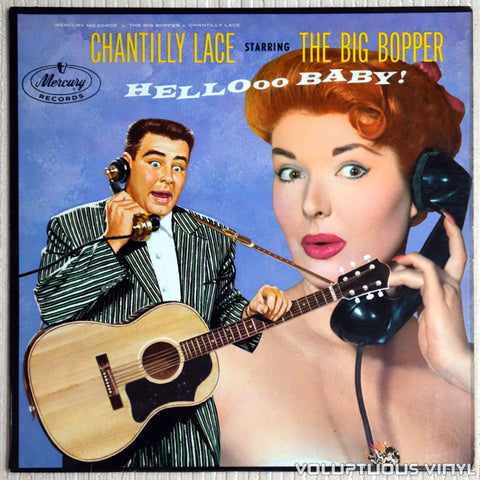The Big Bopper ‎– Chantilly Lace - Vinyl Record - Front Cover