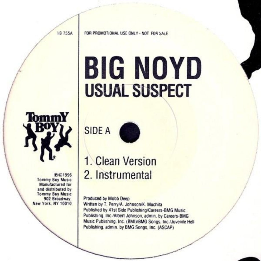 Big Noyd ‎– Usual Suspect vinyl record Side A