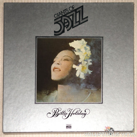 Billie Holiday ‎– Giants Of Jazz: Billie Holiday - Vinyl Record - Front Cover