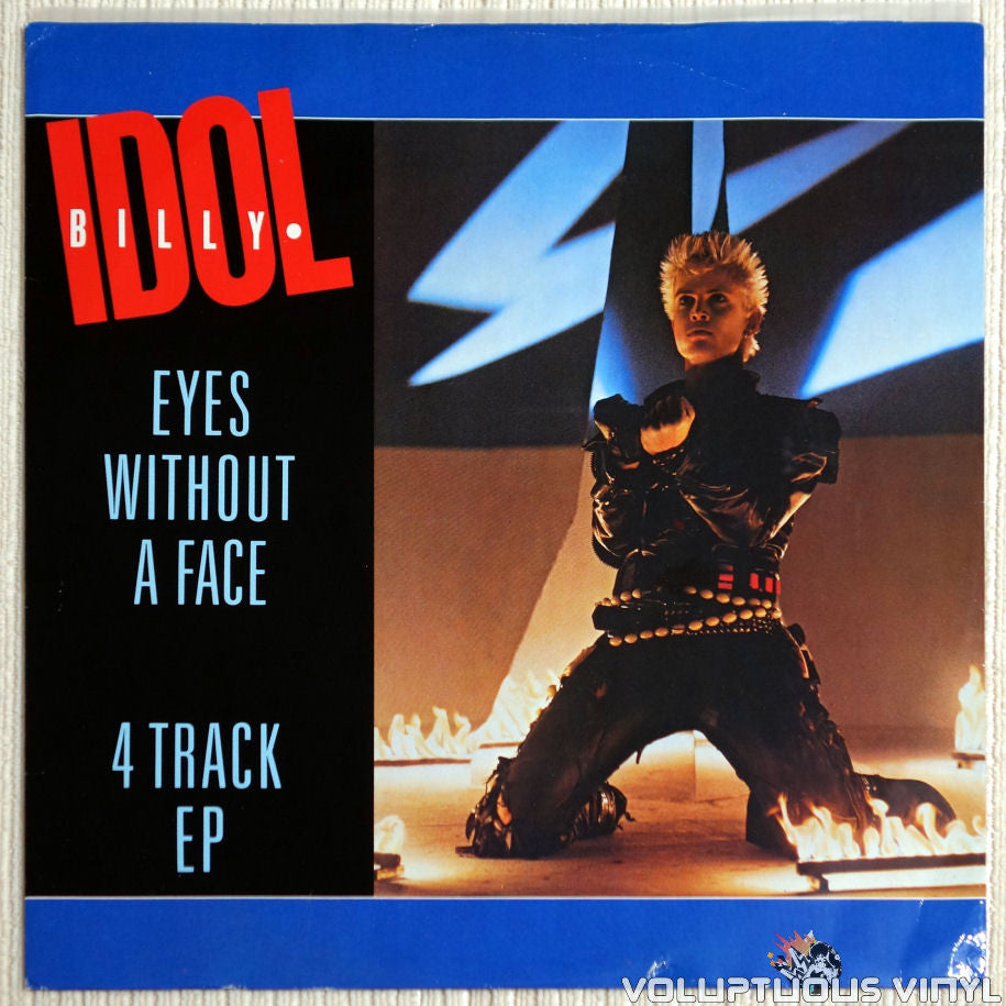 Billy Idol ‎– Eyes Without A Face - Vinyl Record - Front Cover