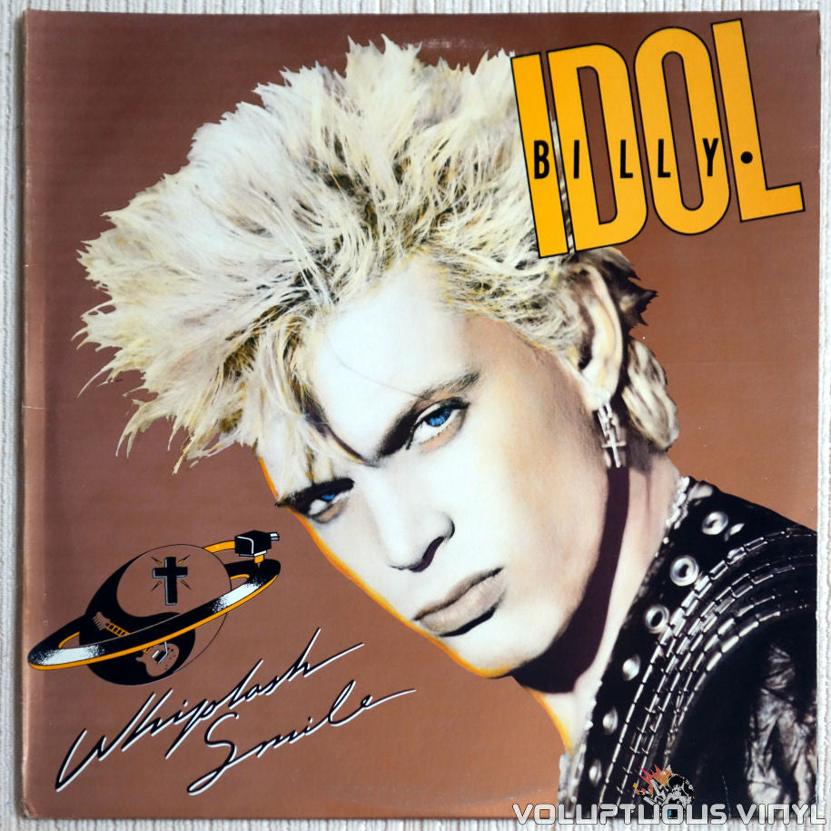 Billy Idol ‎– Whiplash Smile - Vinyl Record - Front Cover