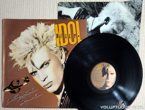 Billy Idol ‎– Whiplash Smile - Vinyl Record