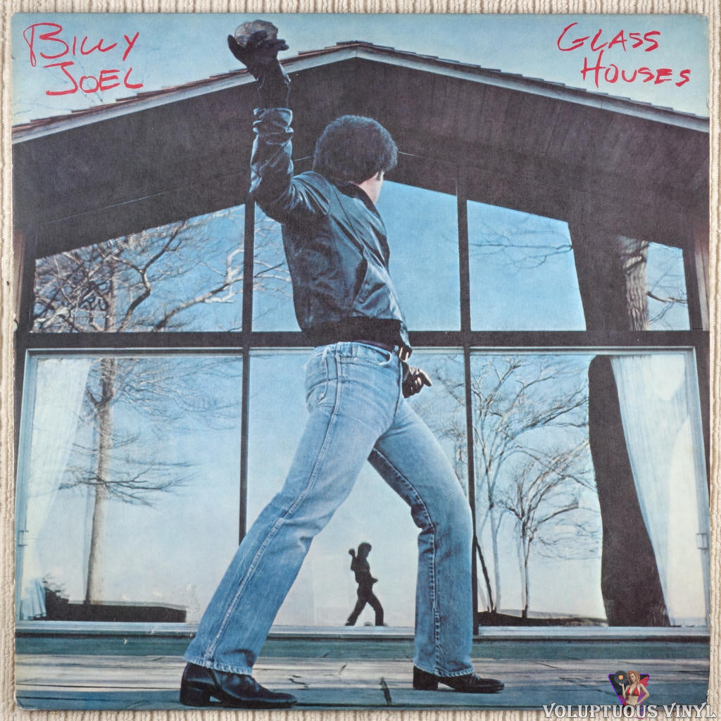 Billy Joel ‎– Glass Houses vinyl record front cover