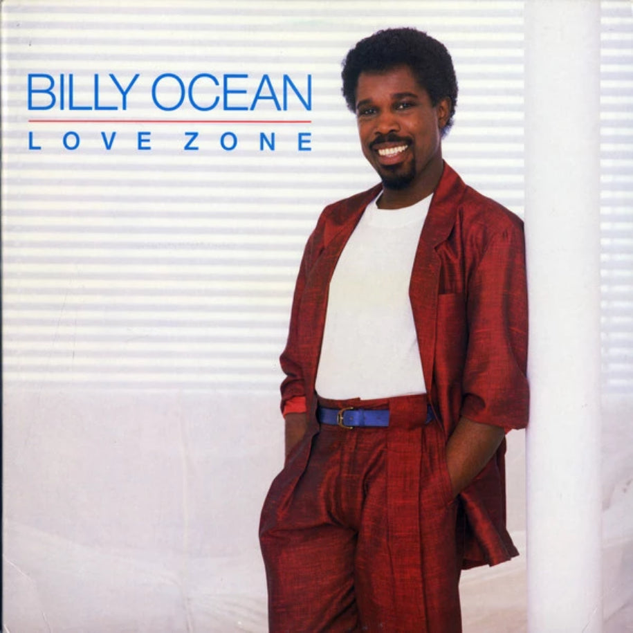 Billy Ocean ‎– Love Zone vinyl record front cover