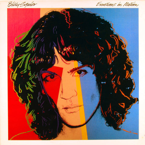 Billy Squier ‎– Emotions In Motion (1982) Cheap Vinyl Record