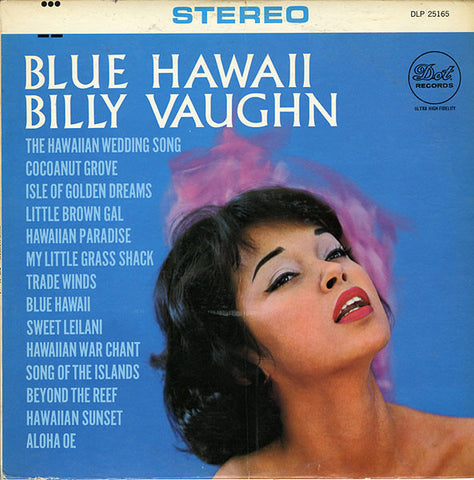 Billy Vaughn And His Orchestra ‎– Blue Hawaii (1959) Cheap Vinyl Record