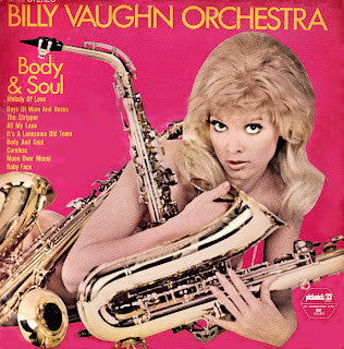 Billy Vaughn ‎– Body & Soul (Unknown) Cheap Vinyl Record