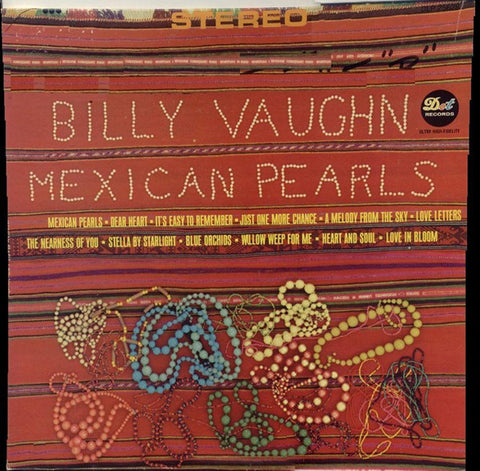 Billy Vaughn ‎– Mexican Pearls (1965) Cheap Vinyl Record