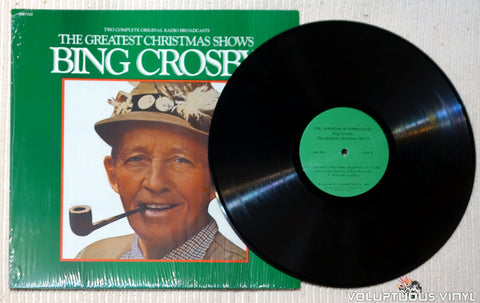 Bing Crosby ‎– The Greatest Christmas Shows vinyl record