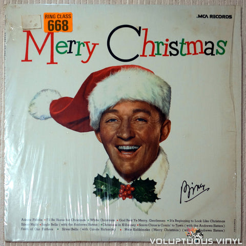 Bing Crosby ‎– Merry Christmas (1973 & 1980)