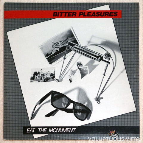 Bitter Pleasures ‎Eat The Monument Vinyl Record Front Cover
