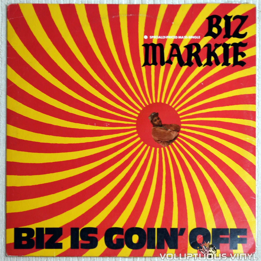 Biz Markie ‎– Biz Is Goin' Off - Vinyl Record - Front Cover